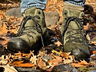 Anatomy of a Hiking Boot: Uppers