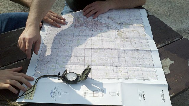 Get Out Alive: Finding North Without a Compass