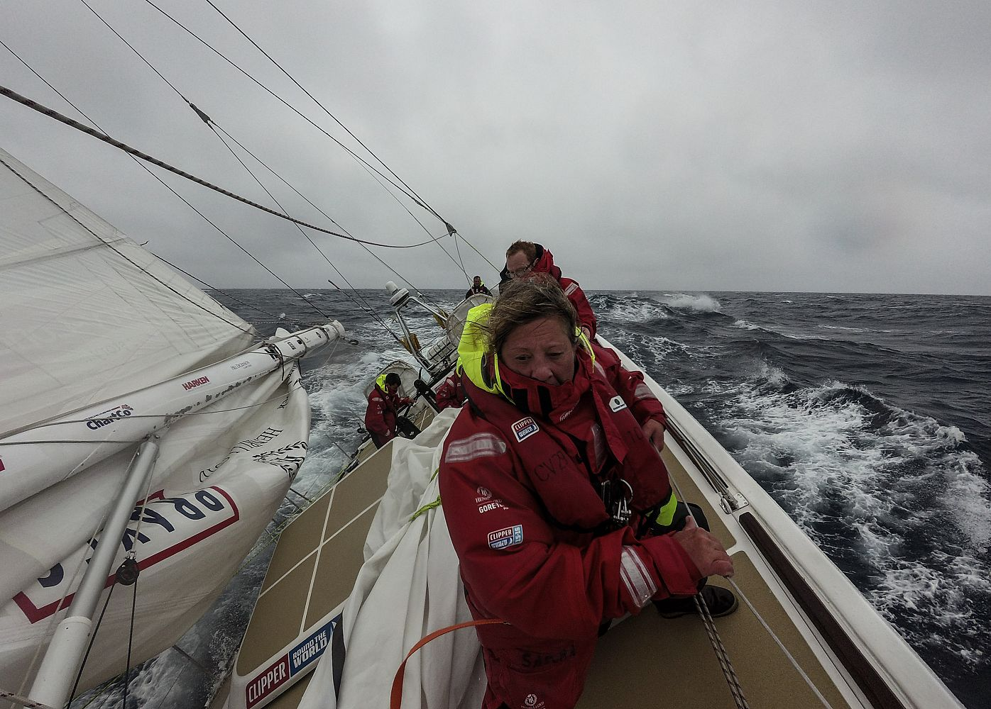 Clipper Round the World Sailing Race Continues Toward Cape Town