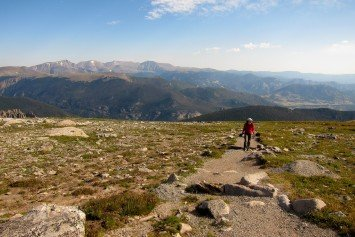 Hiking Society Makes Healthy Pitch for Trails