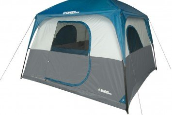 Gander Mountain Cabin View 6-Person Tent Perfect for Family Camping