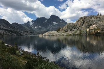 Backpacking the High Sierras Above Mammoth Lakes