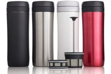 Espro Travel Press Brings Gourmet Coffee Anywhere