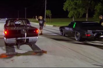 Why Drag Racing on Oil is Insane