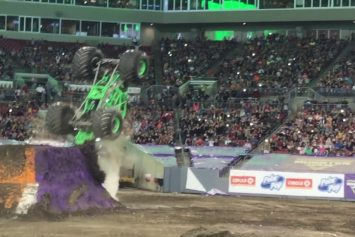 Monster Truck Icon Injured in Tampa Backflip