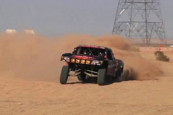The Art and Beauty of a Trophy Truck
