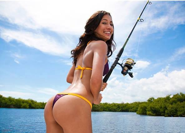 Fishing hot babes Go Topless